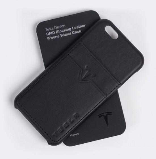 Tesla iphone leather cases