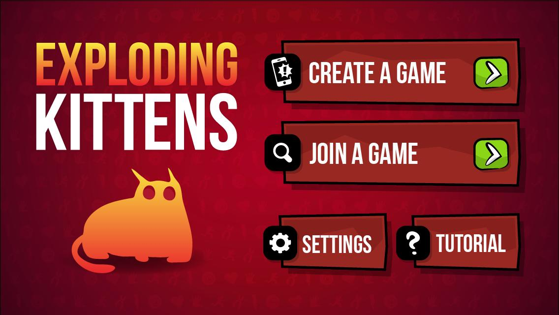 Exploding Kittens iphone version