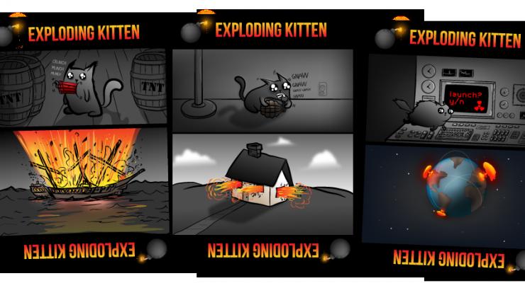 Exploding Kittens iPhone Version