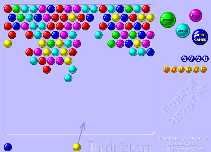 bubble shooter t online