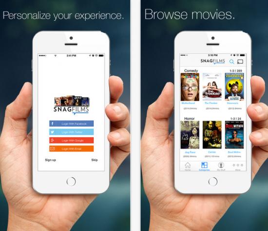 indie movies app