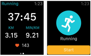 iphone apps for runners