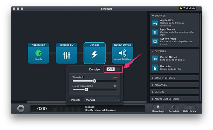mac eq audio hijack sweeten