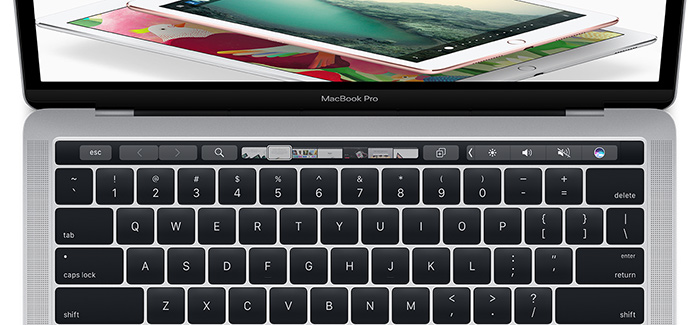 New MacBook Touch Bar