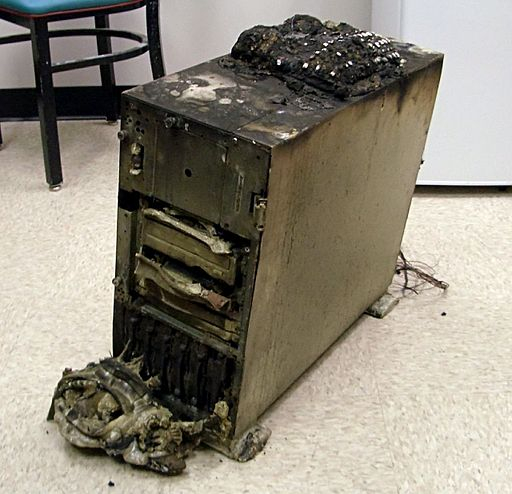 mac backup strategies burnt computer