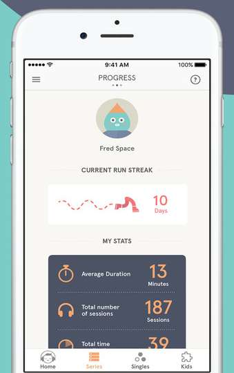 ios fitness apps 2017 headspace