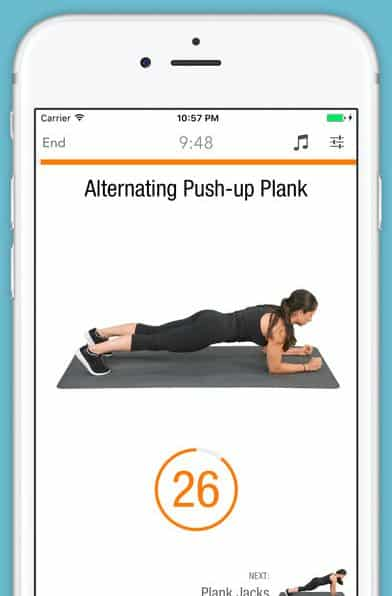 ios fitness apps 2017 sworkit