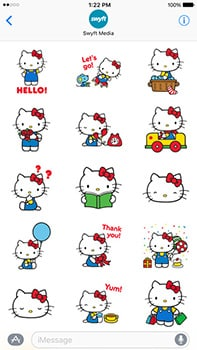 ios sticker packs hello kitty