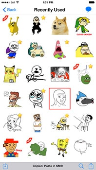 ios sticker packs rage face
