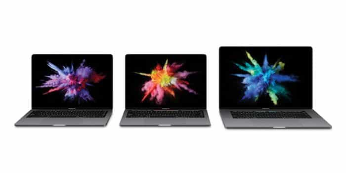 kaby lake macbook pros family