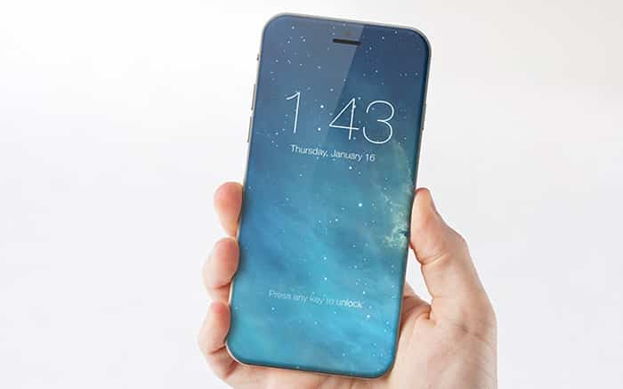 iphone rumors all glass construction