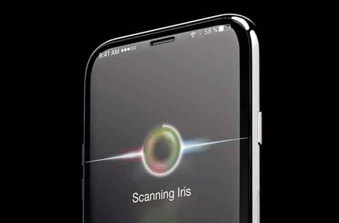 iphone rumors iris scanning
