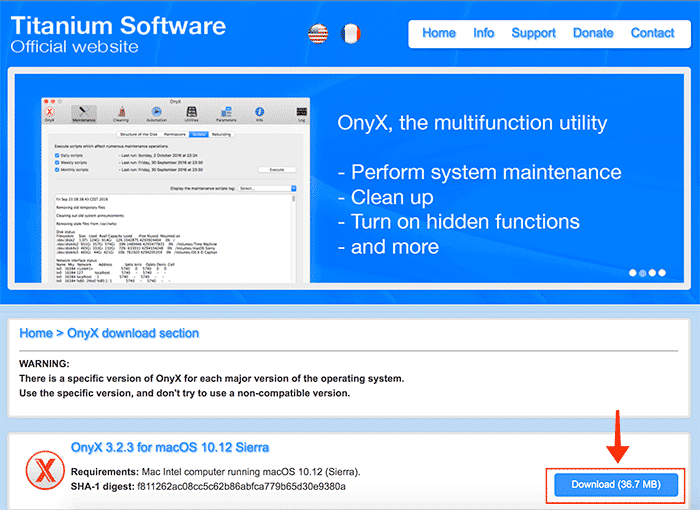 mac maintenance download onyx