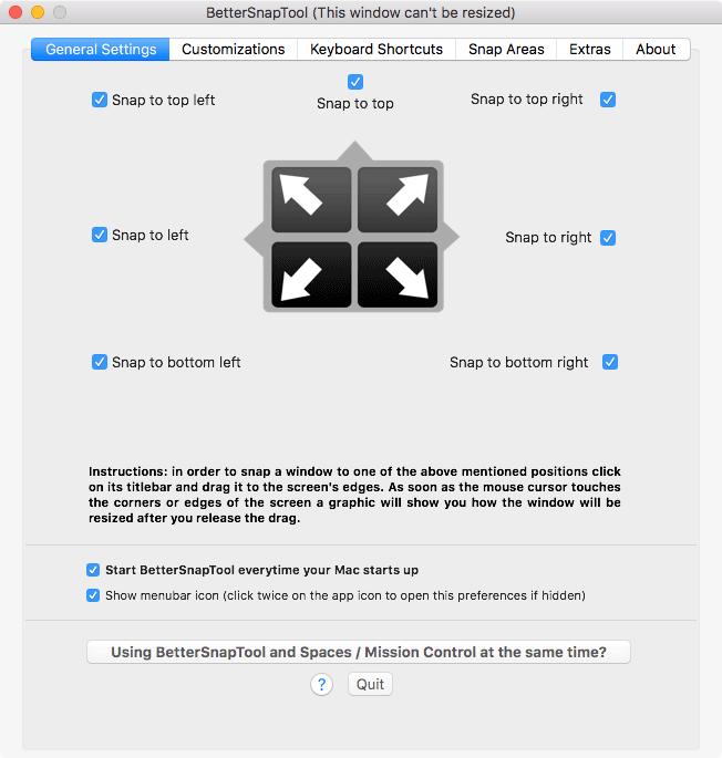 macos window management bettersnaptool