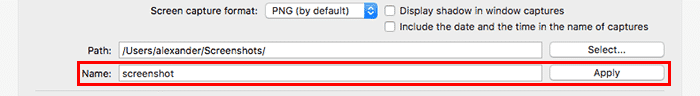 customize macos onyx-general-screenshot-prefix