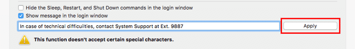 customize macos onyx-login-message-2