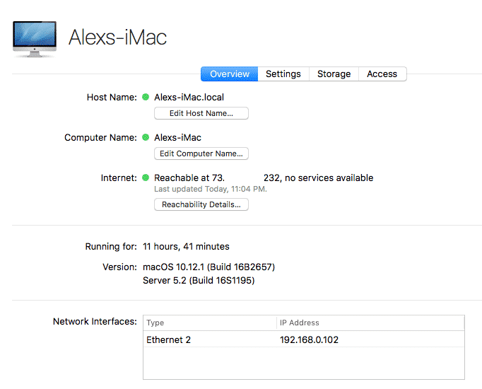 Getting Started with macOS Server