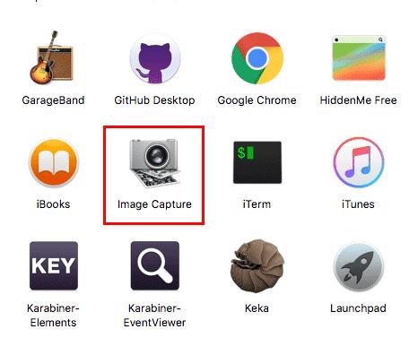 image capture open