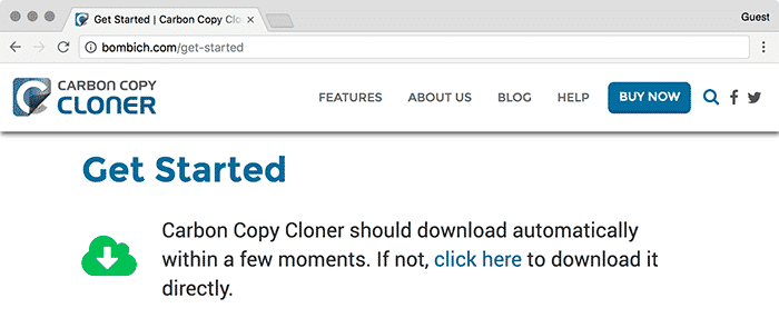 bootable clone