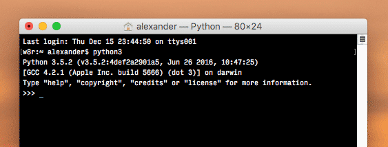 how to change the default python version mac