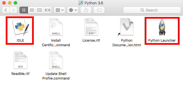 python 3 mac application contents