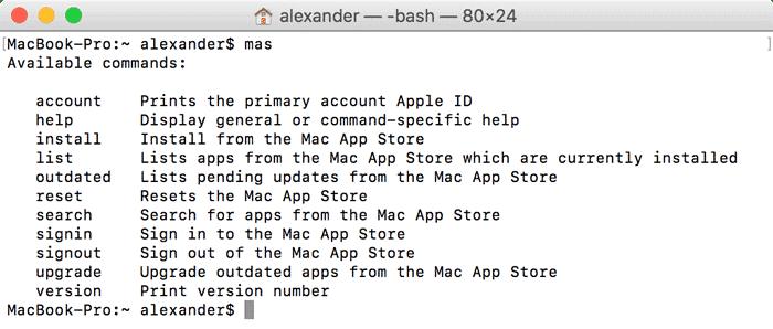 Update Mac Apps Using Terminal - Apple Gazette