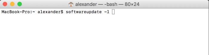 Update Mac Apps Using Terminal