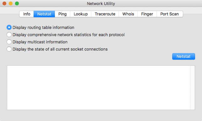 Understanding and Troubleshooting with Network Utility