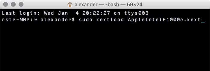 install kexts on a hackintosh