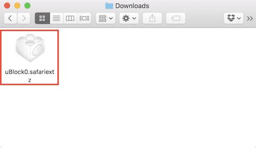 safari extensions ublock origin install