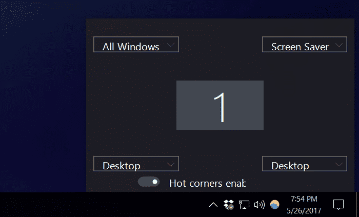 Switching from macOS to Windows WinXCorners