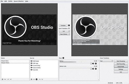 free podcasting software macos obs