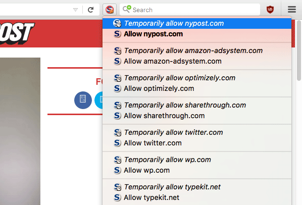 block javascript ads