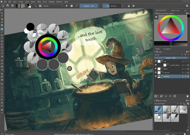 photoshop alternatives krita