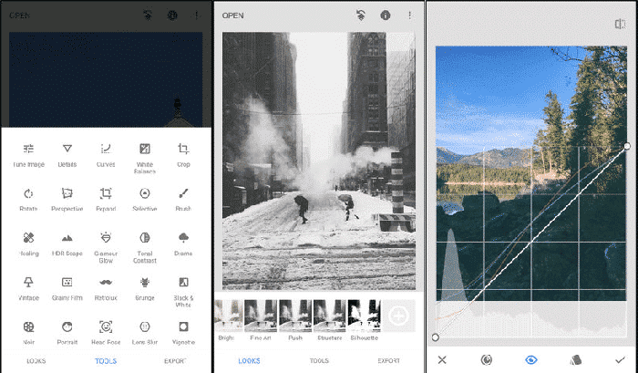 best photo editing apps for iphone and ipad snapseed