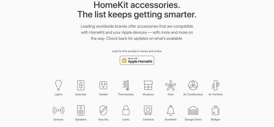 apple homekit iot