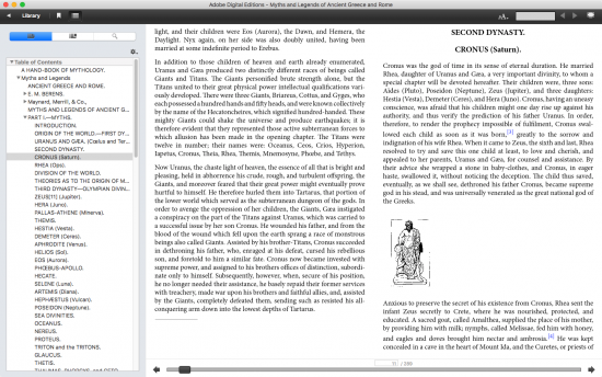 macos e-book reader app adobe