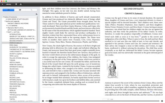 macos e-book reader app adobe