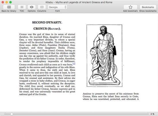 kitabu e-book reader app