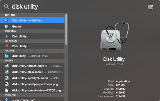 repair disk permissions 1