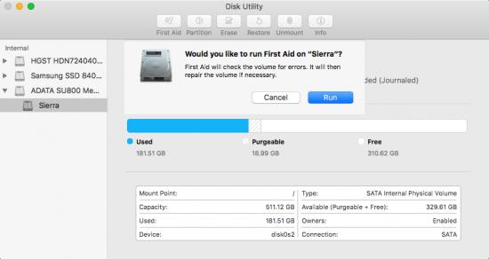 repair disk permissions 3