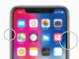 how to take iphone x screenshot