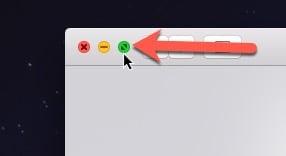 full screen mode mac apps Safari