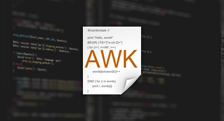 Pro Terminal Commands: Working with Awk - Apple Gazette