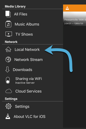 Watching Media and Stream to iOS Devices with VLC Mobile