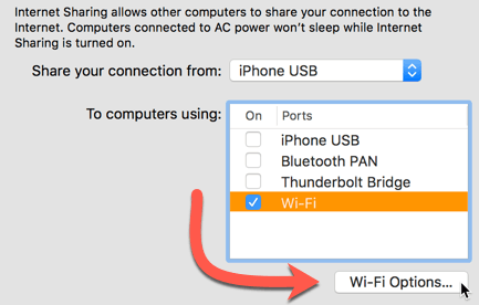 wi fi options create a wi-fi hotspot on your mac