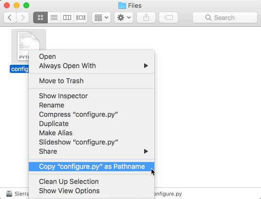Pro Terminal Commands: Run a Python Script on Mac - Apple