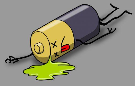dead battery health