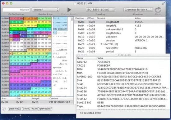 How to Read Hexadecimal Source Code on macOS - Apple Gazette