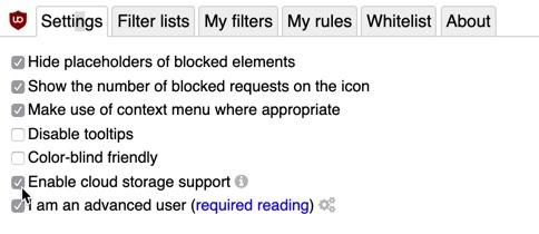 Use uBlock Origin on macOS: Advanced Filtering - Apple Gazette